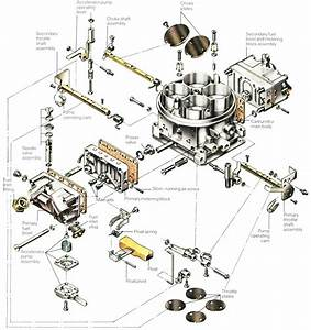 Holley 4160 Carburetor Exploded View