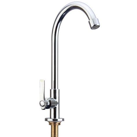 kitchen sink water tap faucet simple chrome kitchen faucet basin sink tap single lever