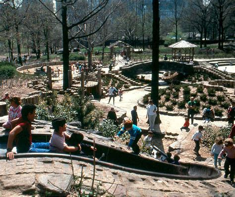 M Paul Friedberg On Playgrounds  Learning Landscapes  Professional Playscape Design In