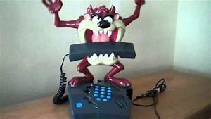 Rare Warner Bros  Looney Tunes Animated Tasmanian Devil