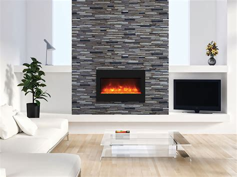built in electric fireplace amantii zero clearance series 33 in built in electric