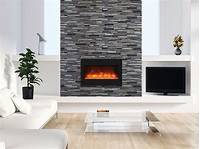 """built in electric fireplace Amantii Zero Clearance 33"""" Built-in Electric Fireplace 