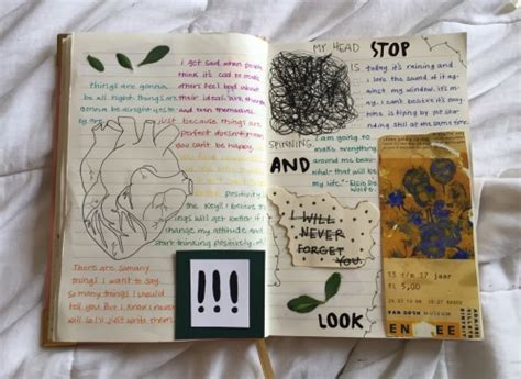 art journal inspo tumblr