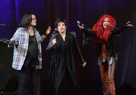 rosie o donnell photos photos cher in concert brooklyn