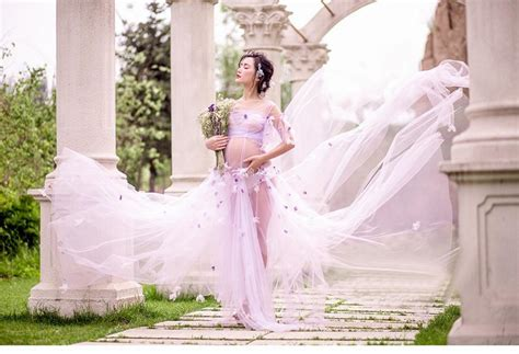 light purple maternity dress light purple maternity gown lace flower fairy dress studio