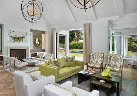 white and gold living room decor with apple green