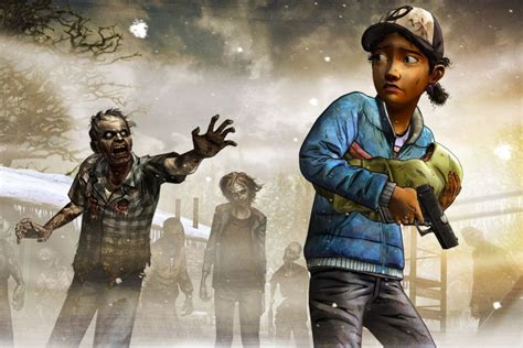 walking dead game wallpaper wallpapertag