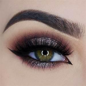 Smokey eye for green eyes trendy makeup tips 2019 on 75