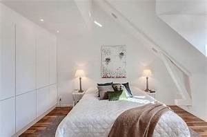 Kleines Schlafzimmer Mit Dachschräge : einrichtungsideen dachschr ge ~ Bigdaddyawards.com Haus und Dekorationen