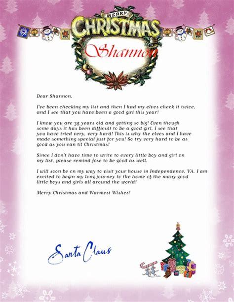 undercover cheapskate  personalized letter  santa