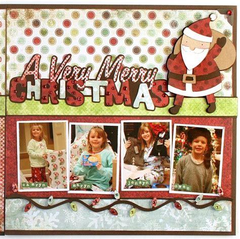 layouts  scrapbook  christmas memories scrap booking