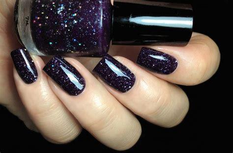 1000+ Images About Dark Purple Nail Polish On Pinterest