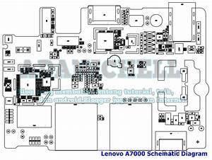 Lenovo A7000 Circuit Diagram