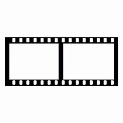 Silhouette Film Roll Template Filmstrip Isolated Depositphotos