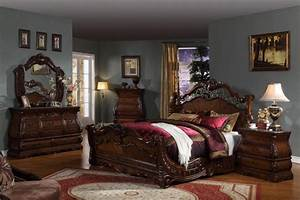 Ashley furniture marble top bedroom set home design for Ashley furniture 5 pc bedroom sets