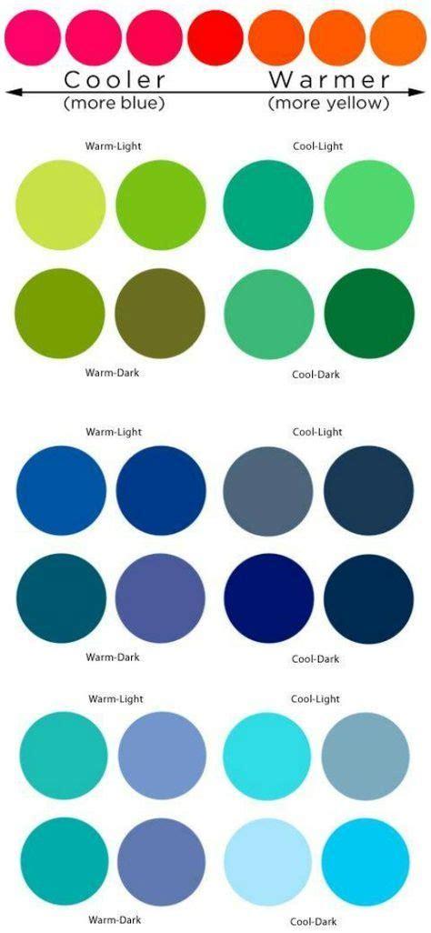 cool colors vs warm colors 27 best warm vs cool colors images on color