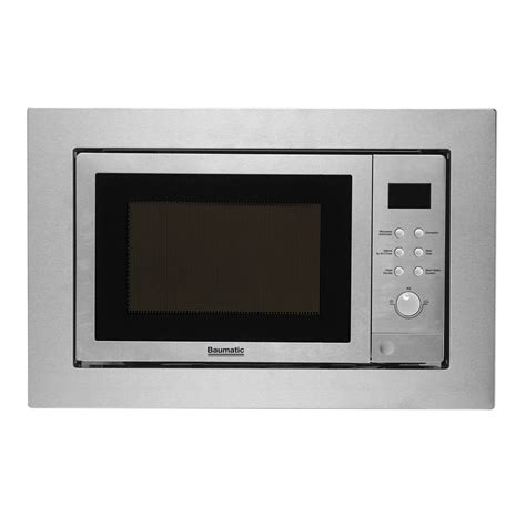 combo microwave and oven baumatic bmc253ss combination built in microwave oven with
