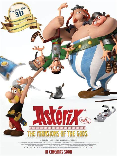 asterix  mansion   gods  unifrance films