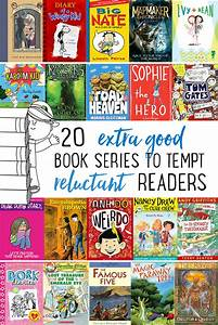 20 Really Good Book Series To Tempt Reluctant Readers