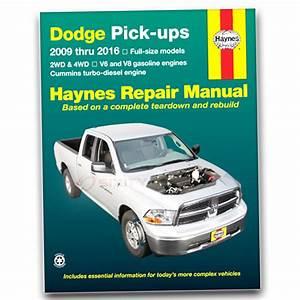 Haynes Repair Manual For 2011-2016 Ram 2500