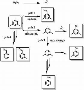 A Proposed Mechanism For The Reaction Of Tmb And H2o2