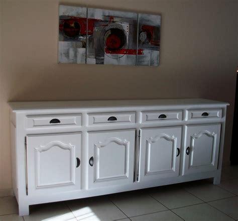 meuble cuisine repeint enfilade 4 portes relookéeart 39 ébèn