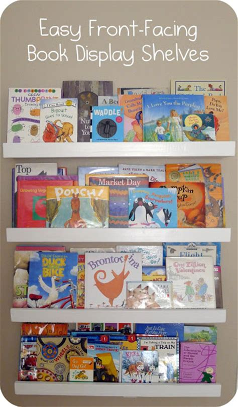 pieces  polly easy front facing picture book display