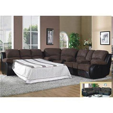 microfiber reclining sofa with console 1489 modern brown microfiber sleeper reclining sofa