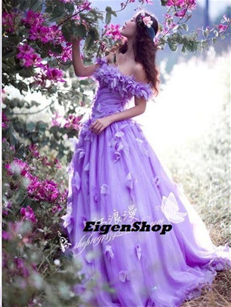 jual gaun pengantin ungu wedding gown wedding dress
