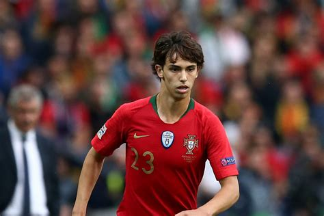 Team of the year nominee: Joao Felix could soon join Atletico Madrid after £100m agreement