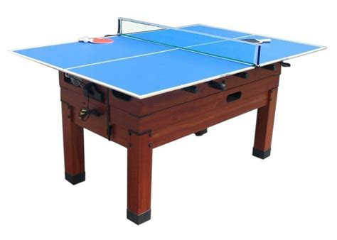 table tennis table conversion top mini table tennis conversion top in blue