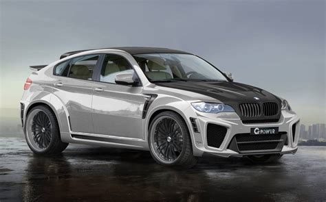 The World's Fastest Suv Gpower Bmw X6 Typhoon Rs V10