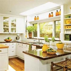 20 modern kitchens decorated in yellow and green colors for Kitchen colors with white cabinets with creating wall art