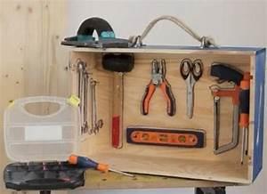 Outillage Pour Le Bois : 5 caisses outils en bois faire soi m me ~ Dailycaller-alerts.com Idées de Décoration
