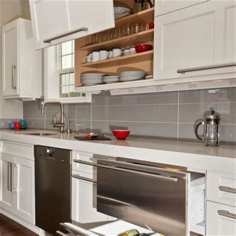 cuisine rectangulaire pate de verre rectangulaire pose droite dosseret cuisine