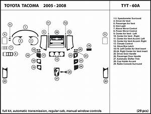 Toyota Tacoma 05 Regular Cab  Manual