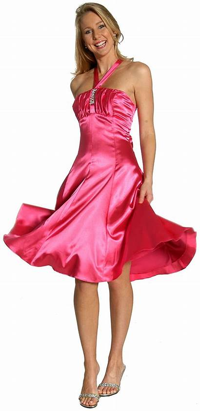 Graduation Dresses Pink Formal Vestidos Prom Fuchsia