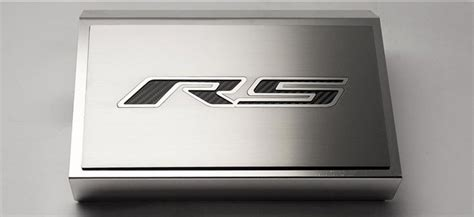gen  camaro  rs   brushed fuse box cover
