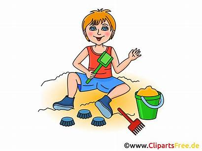Clipart Spielen Cartoon Sandkasten Bild Utklipp Sandbox