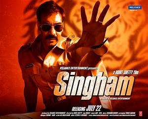 Posters of Ajay Devgn's 'Singham Returns' released
