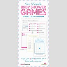 Free Printable Baby Shower Games {with I Heart Nap Time} Chickabug
