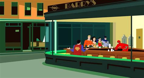 nighthawks paintings