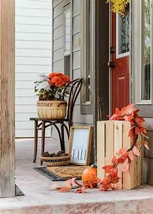 Fall, Front, Porch, Decorating, Ideas, On, A, Budget