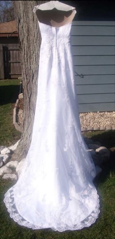 davids bridal  michelangelo wedding dress tradesy