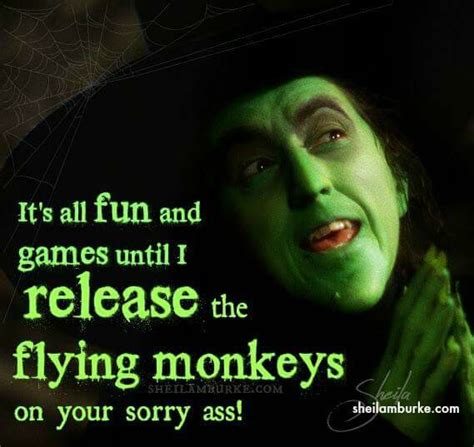 Flying Monkeys Meme - release the monkeys halloween pinterest monkey humor and sarcasm