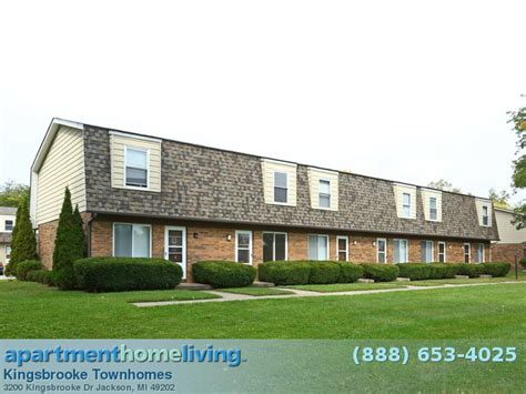 Apartments And Houses For Rent Jackson Mi by Kingsbrooke Townhomes Apartments Jackson Apartments For