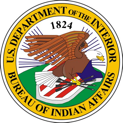 interior bureau of indian affairs file seal of the united states bureau of indian affairs svg wikimedia commons