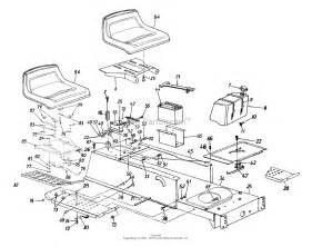 Mtd 13am675g062  1998  Parts Diagram For Frame  Seat  Fuel Tank