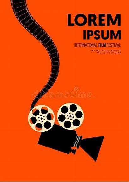 Film Filmstrip Camera Template Poster Movie