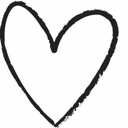 Drawn Heart Clipart Double Hand Rubber